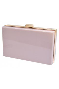 Acrylic Rectangular Evening Clutch Purse Jewelry Box