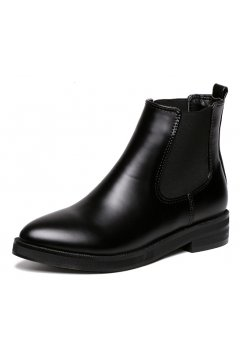 Black Punk Rock Old School Country Vintage Gothic Ankle Boots