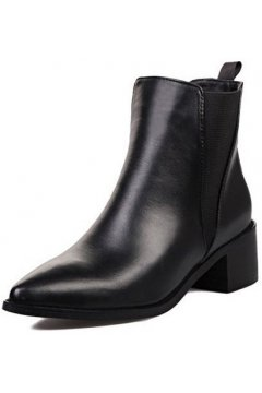 Black Point Head Punk Rock Ankle Military Women Boots Shoes