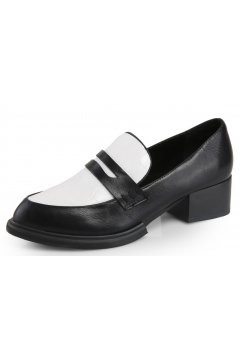 Black White Old School Vintage Oxfords Loafers Flats Dress Shoes
