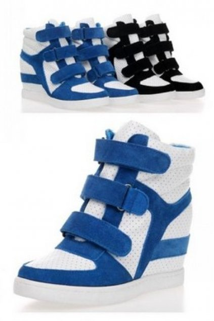 b9e23d2900bb Shoes    Sneakers    Suede Leather High Top Hidden Wedges Ankle Boots  Sneakers