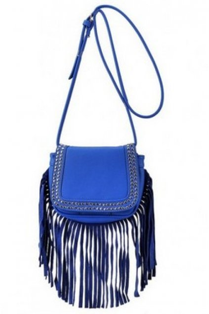 Bags :: Shoulder Bags :: Metal Studs Long Fringes Country Long ...