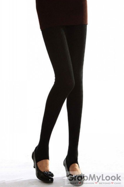 5c37ad4898db4 Accessories :: Leggings :: Black Skinny Long Pants Tights Leggings