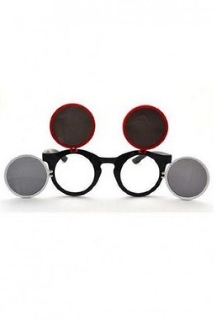 f5d8453222 Accessories    Glasses    Mouse Inspired Retro Vintage Round Frame Sunglasses  Eyewear