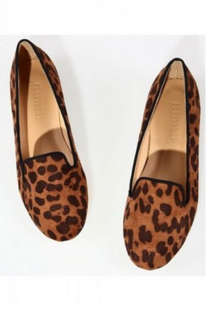 6f3e3971f7d Shoes    Flats    Velvet Suede Leopard Print Loafers Flats Shoes